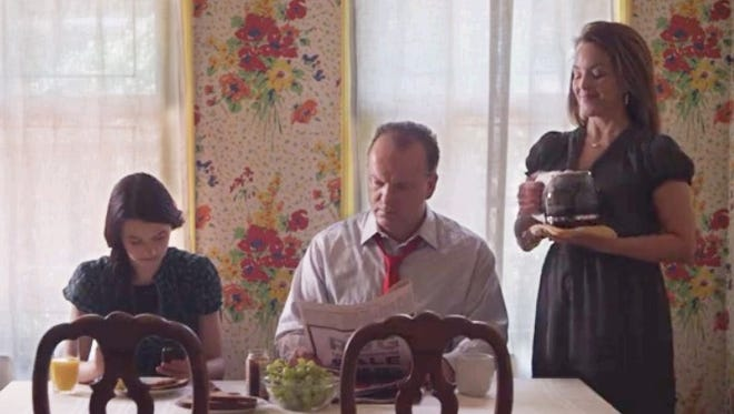 """Leah Barker, Robert Clohessy and Alice Ripley in a scene from """"Sugar!,"""" which will screen at the Boardwalk Film Festival in Asbury Park."""