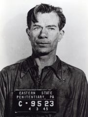 """Slick'' Willie Sutton at  Eastern State Penitentiary."