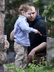 Freed Canadian hostage Joshua Boyle watches Oct. 14,