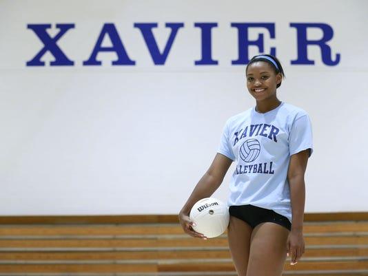 Xavier girls volleyball
