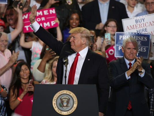 President Trump Marks 100 Days In Office With Rally In Pennsylvania