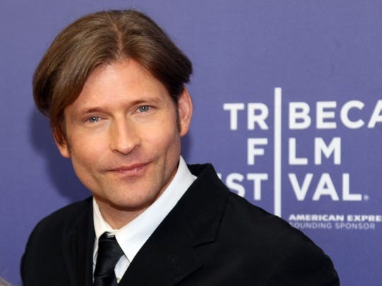 Crispin Glover, pictured during the 2012 Tribeca Film Festival at the School of Visual Arts Theater on April 22, 2012 in New York City.