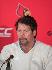 Brian VanGorder at his introductory press conference.