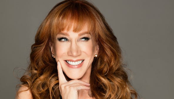Kathy Griffin performs at Taft Theatre Friday, March