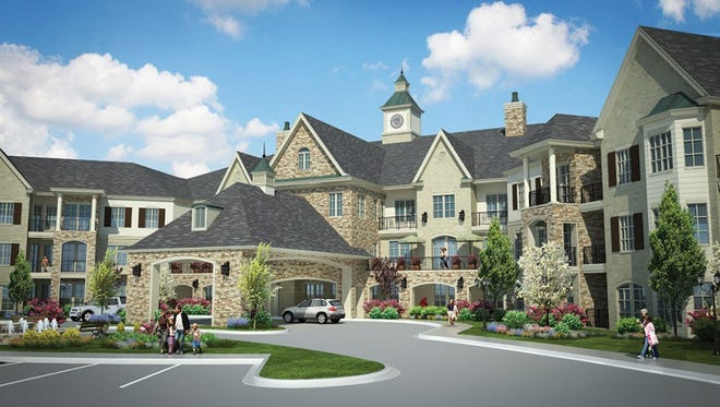 Collierville active adult 55 and older community breaks ground on nursing and rehab unit, Jordan River Health Center.