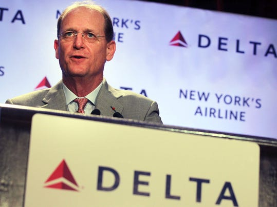Delta Airlines CEO Richard Anderson Details Plans For Hub At LaGuardia Airport
