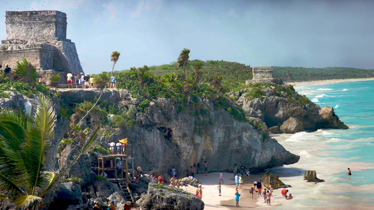 The Riviera Maya is 80 miles of coastline studded with water- and land-based attractions.