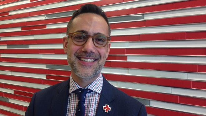 Chad Priest, 39, is the new chief executive officer of the Red Cross in Indiana, which has moved into new headquarters at 1510 N. Meridian St.