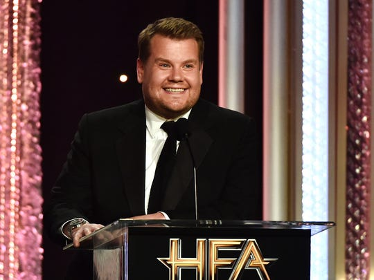 James Corden riffs at the 20th annual Hollywood Film