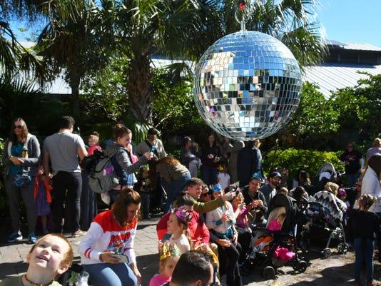 Noon Year's Day at Brevard Zoo