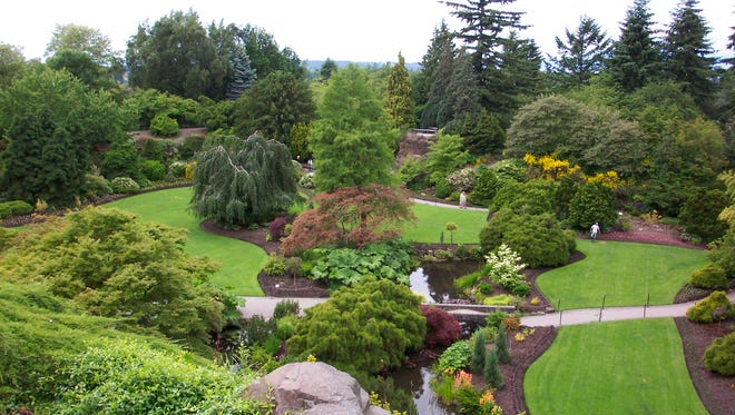 Vancouver's Queen Elizabeth Park (pictured) is a 15-minute drive from downtown. Play a round of pitch and putt, or enjoy a picnic on the beautifully groomed grass. Walk 15 minutes from there and you're at VanDusen Botanical Gardens. It is an immaculately kept green space where you can enjoy afternoon tea in their cafe while overlooking the gardens.