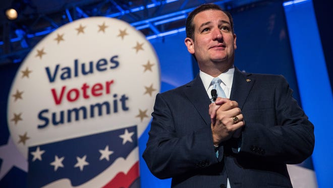 Sen. Ted Cruz, R-Texas, was a featured speaker at the 2013 Values Voter Summit.