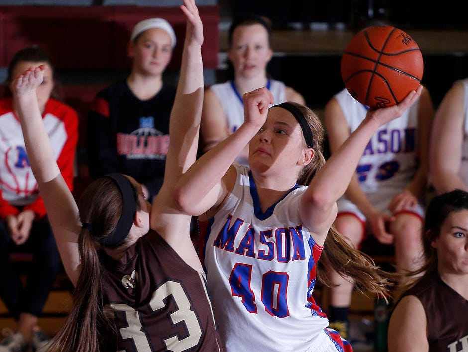 Autumn Kissman became the first Mason player to reach 1,000 career points in more than a decade earlier this month.