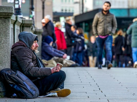 germany homeless destitute citizens in frankfurt will have to pay fines