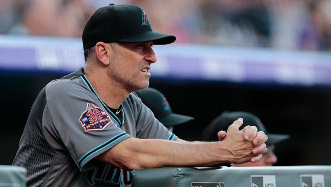 Arizona Diamondbacks manager Torey Lovullo