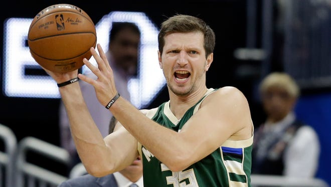 The Bucks' Mirza Teletovic will be out indefinitely.
