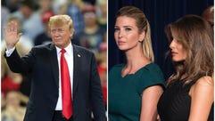 Did first lady Melania Trump and Ivanka help change