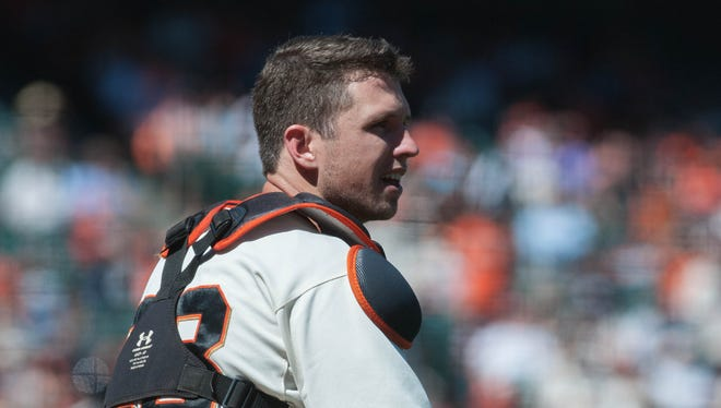 Buster Posey and the Giants have squandered all of a 9 1/2 game lead to the Los Angeles Dodgers.