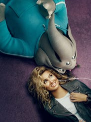 Tori Kelly shares a voice (and earbuds) with her character,