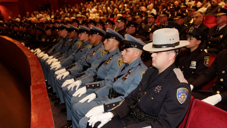 The Westchester County Police Academy held its graduation