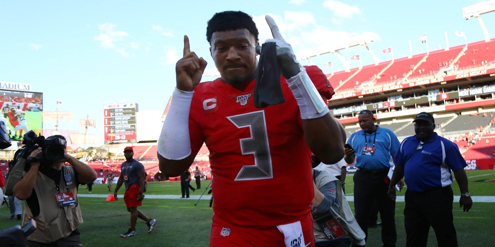 Jameis Winston is a walking turnover, and that's good news for the Detroit Lions