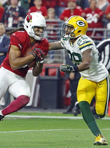The Arizona Cardinals and Green Bay Packers played a classic NFC playoff game in Glendale in 2010. On Saturday, they face off in Glendale again, looking to earn a berth in the NFC Championship Game. Take an early look at the game: