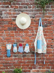 The Laura Ashley line of gardening accessories helps