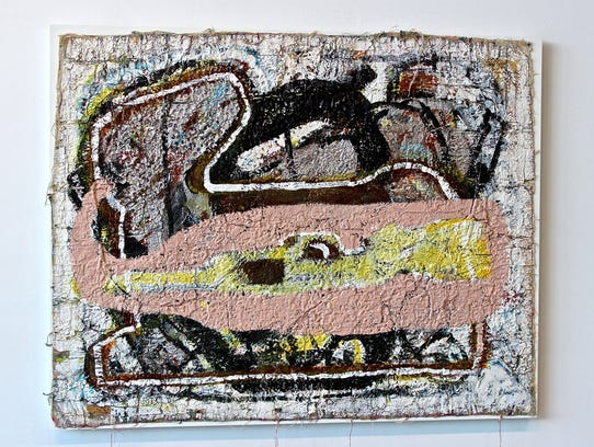 """Michael Luchs' """"Untitled (Rabbit) #3"""" appears in the"""
