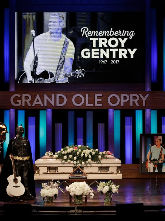 AP TROY GENTRY MEMORIAL A ENT USA TN