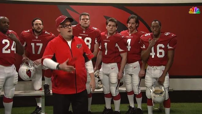 "Bruce Arians was impersonated on ""Saturday Night Live."""