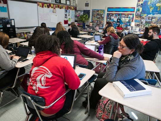 Red Clay has been recognized for increasing the number of students in Advanced Placement and dual-enrollment classes.