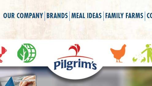 Pilgrim's Pride website