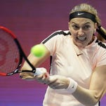 Kvitova sends Czechs into Fed Cup semis