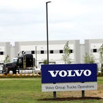Volvo's new Central Distribution Center, a $70 million state-of-the-art facility, supporting its Mack and Volvo truck brands, as well as Volvo Construction Equipment and Volvo Penta, was officially opened with a ribbon-cutting ceremony Tuesday, June 30, 2015 in Byhalia, Miss.