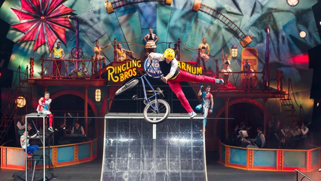 The Circus XTREME combines extreme thrills, exotic animals and a mix of performers, including Koji Kraft.