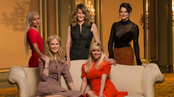 HBO's 'Big Little Lies' features a powerful cast that