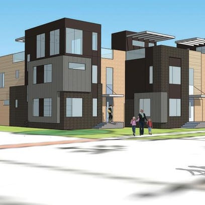 Hubbell Realty Co. plans to build a 47-unit townhouse