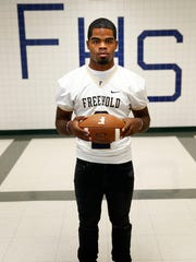 Freehold High School senior quarterback Ashante Worthy
