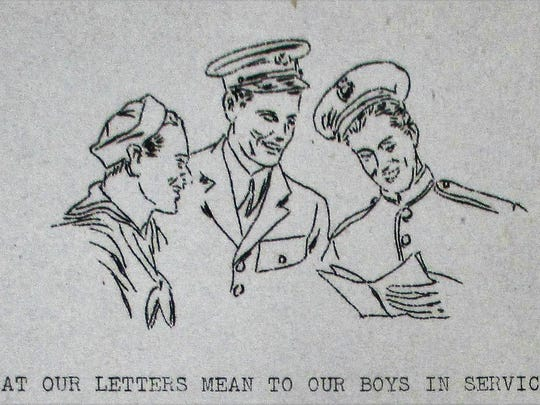 Illustration for an editorial in the Spring 1945 issue of Richmond High School's Chips magazine.