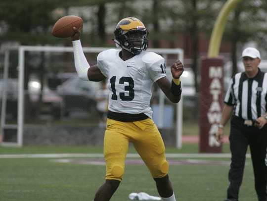 St. John Vianney High School quarterback Anthony Brown
