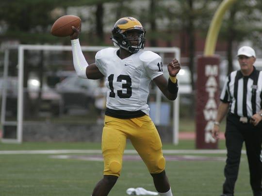 St. John Vianney High School quarterback Anthony Brown