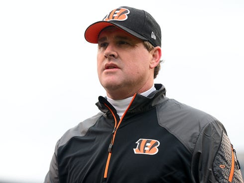 Jay Gruden has spent the past three seasons as the Bengals' offensive coordinator.
