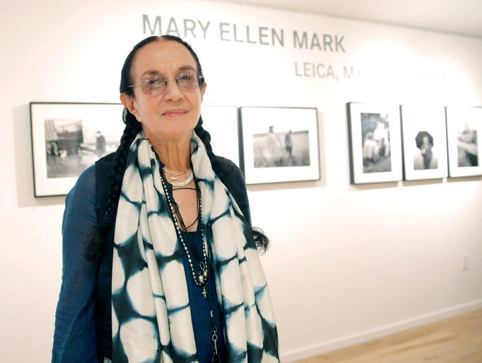 May 25, 2015: Photographer Mary Ellen Mark, a renowned