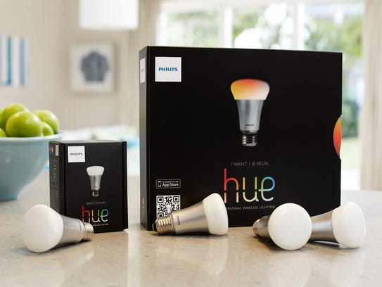 led hue light bulb by philips are one of many 39 smart 39 light bulbs on. Black Bedroom Furniture Sets. Home Design Ideas