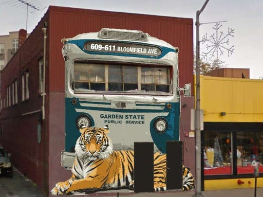 This proposal for a mural to be painted on an abandoned go-go bar in Bloomfield may be used elsewhere in the township.