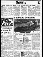 This week in BC Sports History - Oct. 1, 1995