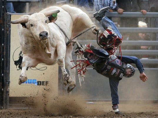 Professional Bull Riders Bounce Into Salinas Tonight