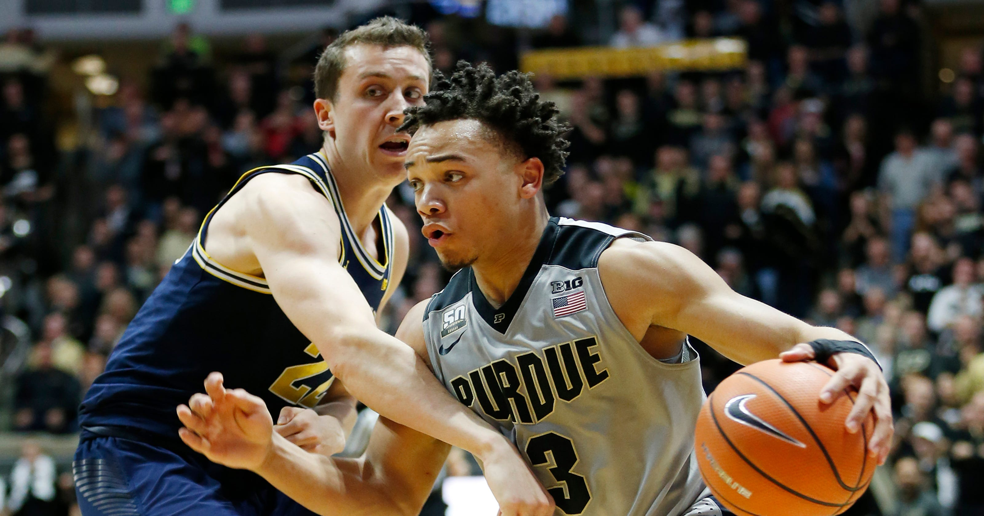 b0cd7d418 Purdue s Carsen Edwards on Cousy Award watch list for top point guard