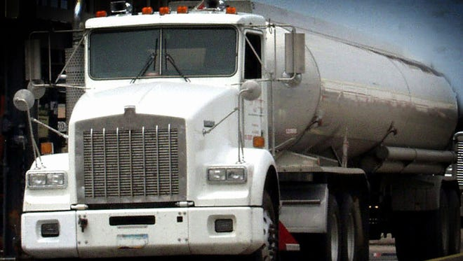 A tanker truck is shown in this file photo.