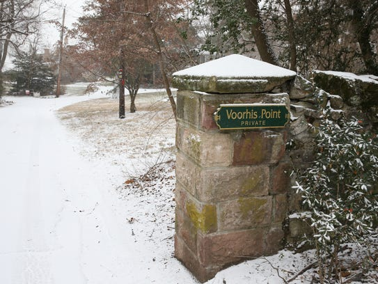 Voorhis Point in South Nyack on Saturday, December